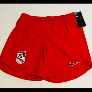 New NIKE USA NATIONAL SOCCER TEAM VAPORKNIT SHORTS